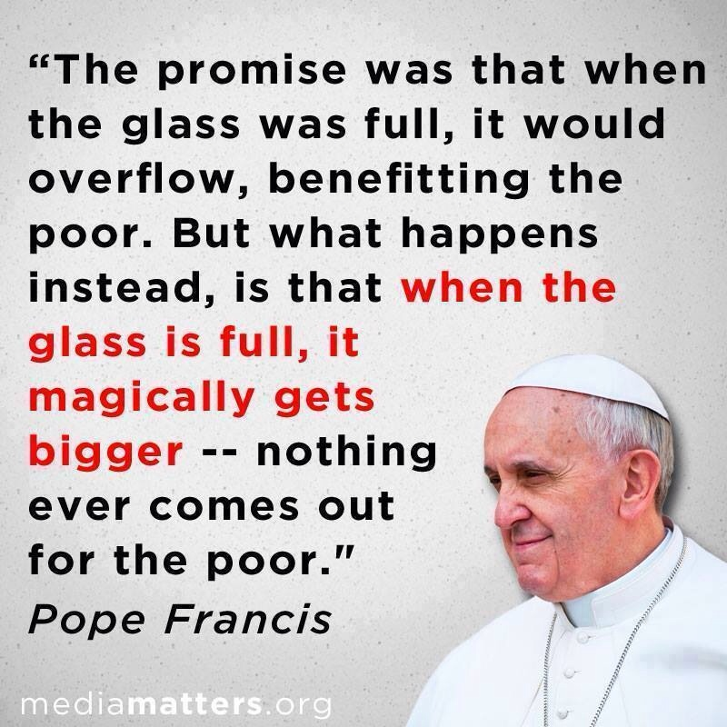 Pope Francis tells it !!!
